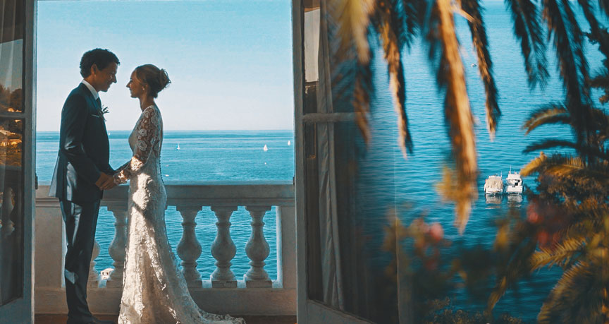 wedding videographer french riviera